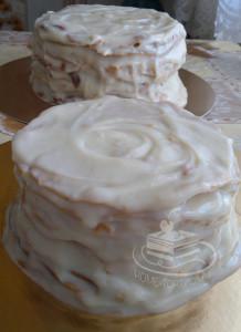 Торт Наполеон без присыпки