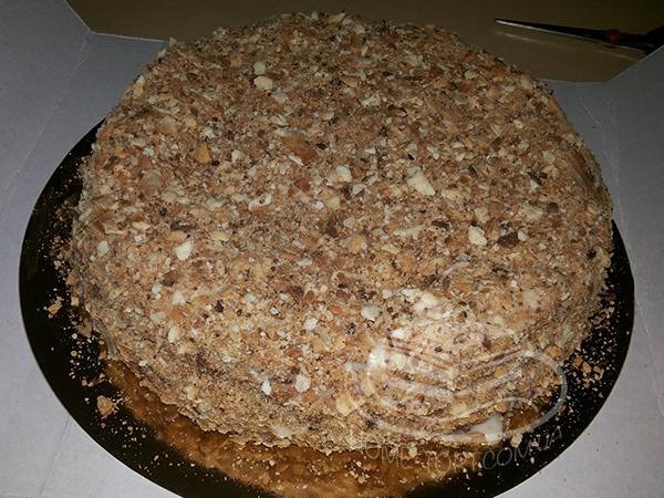 Торт наполеон на заказ брянск