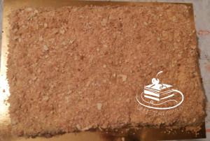 Торт Наполеон большой квадратный