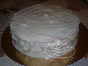 Торт Монастырская Изба в креме