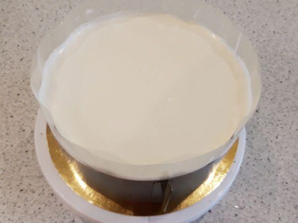 Рецепт торта Птичье молоко - сборка