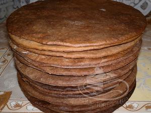 Торт Спартак - коржи