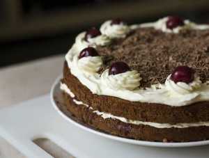 Торт Черный Лес (Шварцвальд) - коржи