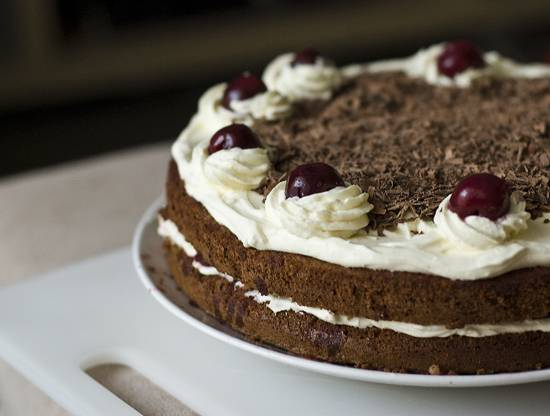 Торт черный лес рецепт коржей