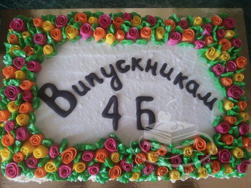 Торт Творожный для школьного выпускного