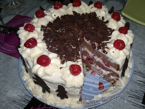 Торт Черный Лес (Шварцвальд)