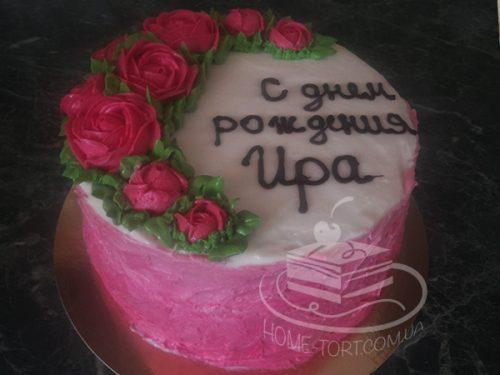Торт Черный лес на День Рождения