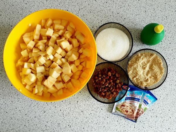 Штрудель рецепт - ингредиенты для начинки