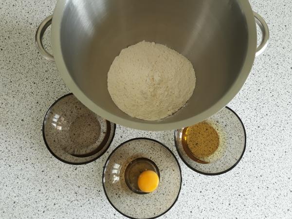Штрудель рецепт - ингредиенты для теста