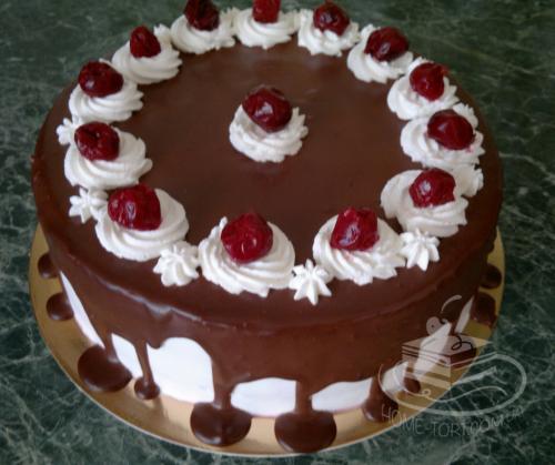 Торт Пьяная Вишня | Торт на заказ Львов