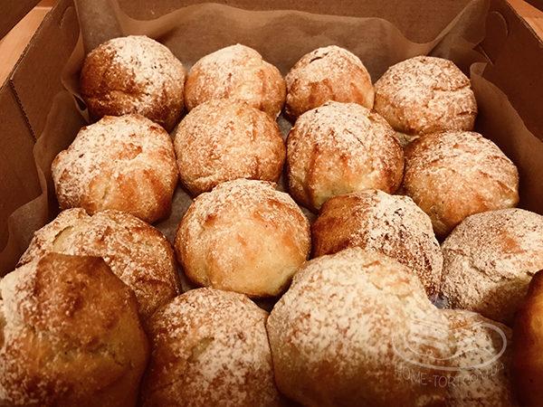 Заварные пирожные на заказ Киев