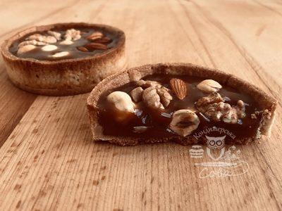 Тарталетки с орехом на заказ во Львове