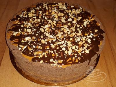 Торт Сникерс | Торт на заказ