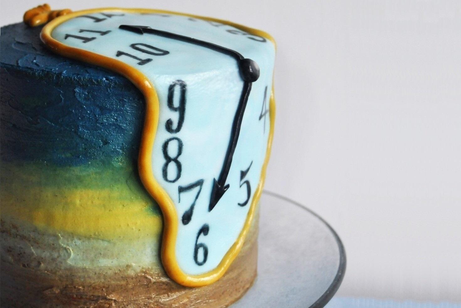 Торт часы Дали | Как и сколько хранить десерты | Блог | Торт на заказ от Натали