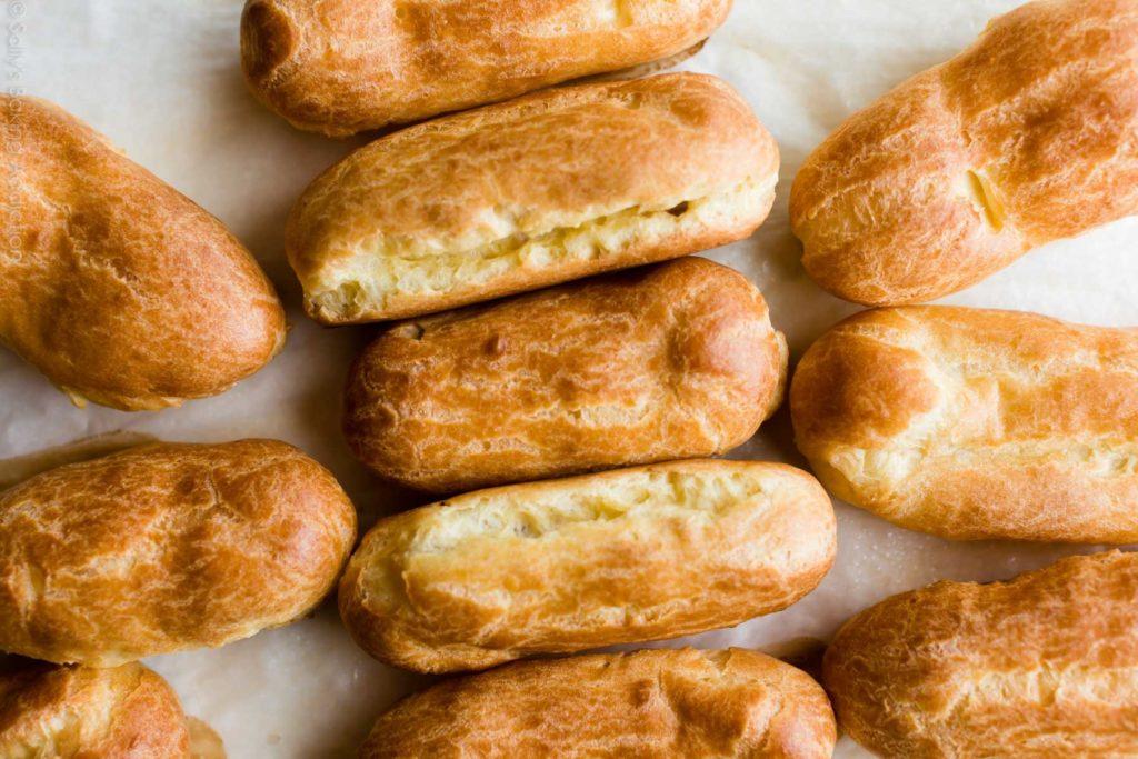 Мелкие трещинки по всему пирожному | Секреты идеальных эклеров | Блог | Торт на заказ от Натали