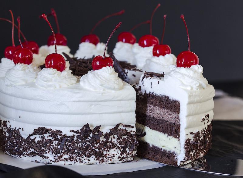 Торт Черный лес | Торт на заказ