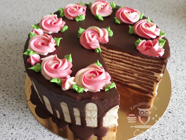 Spartak Cake
