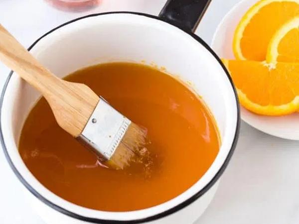 Апельсиновый сироп - пропитка для торта