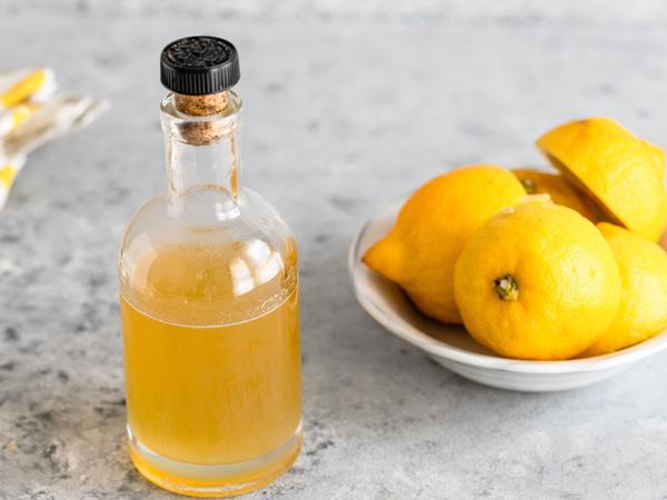 Лимонный сироп - пропитка для торта