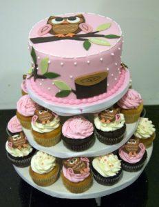 Торт из капкейков - кенди-бар Львов