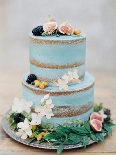 полуголый торт | Тренды дизайна тортов 2018-2019 | Блог | Торт на заказ