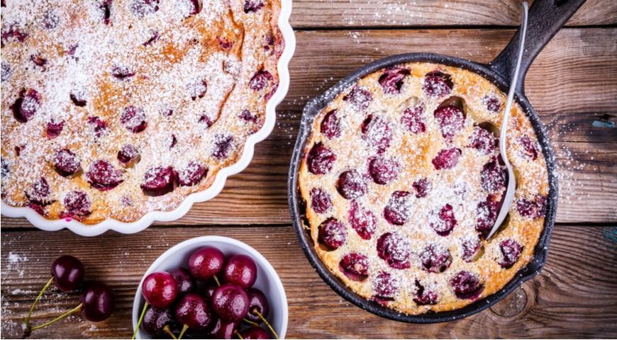Пирог Клафути - ягоды в выпечке. Торт на заказ Львов