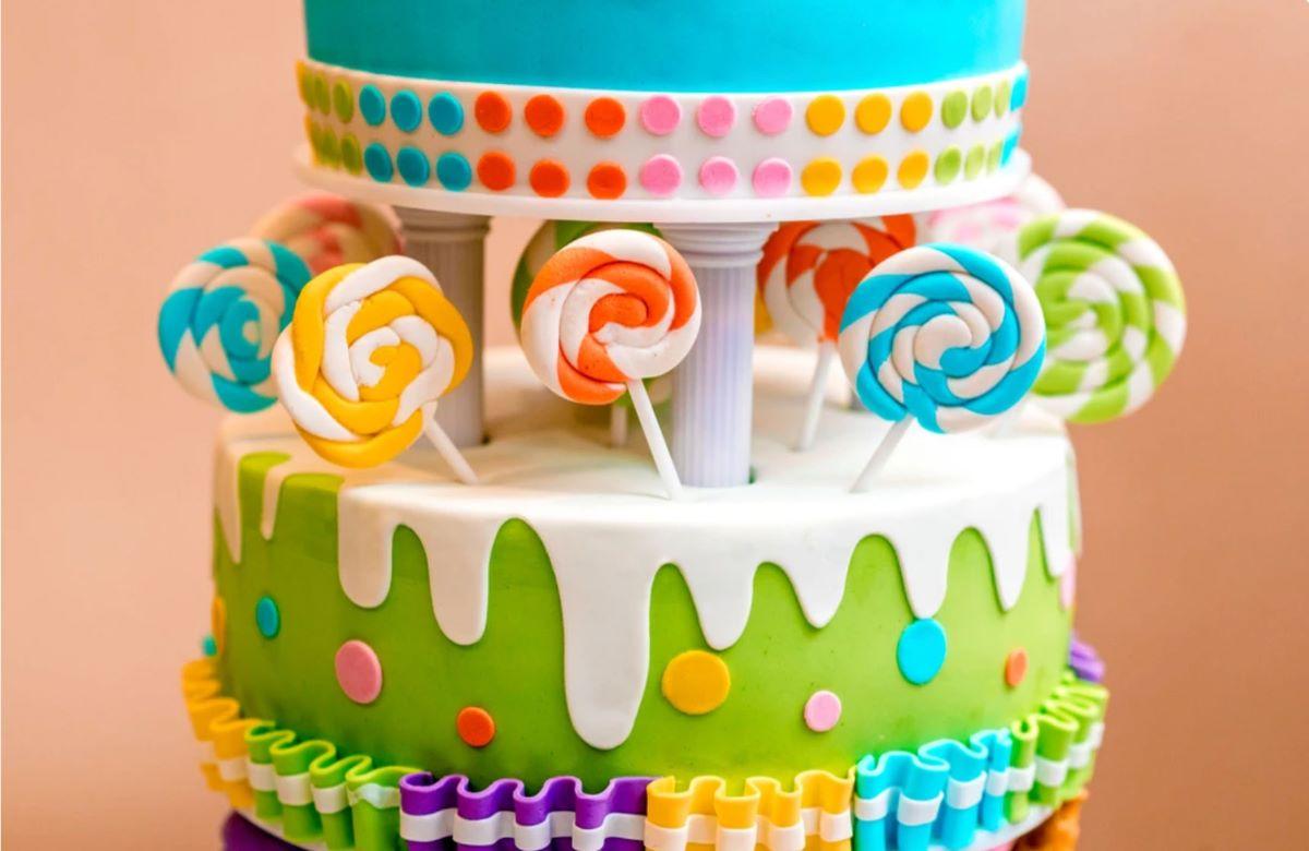 Мастика в детском торте | Детский торт на заказ Львов