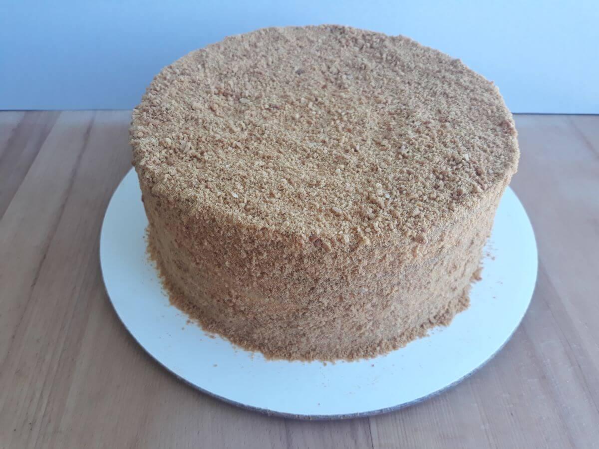Готовый торт медовик | Медовик во Львове
