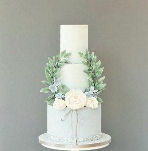 Белый торт на свадьбу | Свадебный торт на заказ во Львове