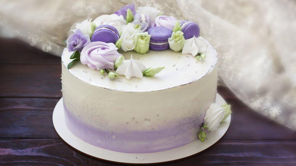 Декор торта безе | Торт на заказ во Львове