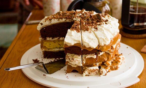 Декор торта кремом | Торт на заказ во Львове