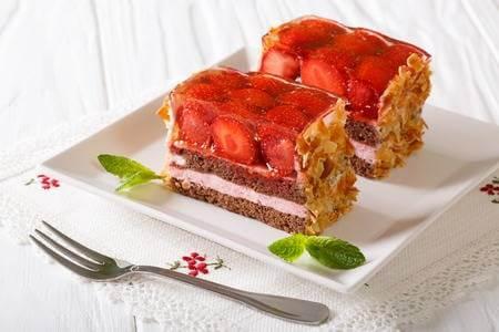 Декор торта желе | Торт на заказ во Львове