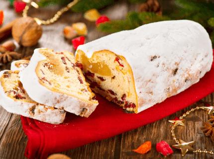 Штоллен на Рождество | Торт на заказ во Львове