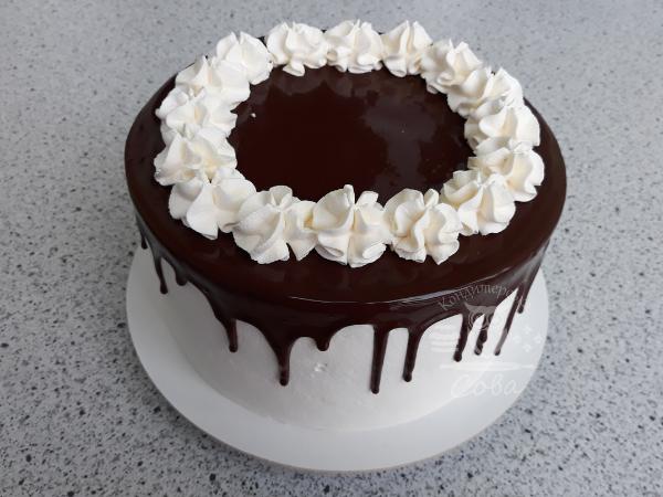 Декорируем торт Шварцвальд | рецепт