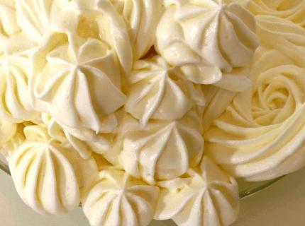 Начинка для эклеров - сливочный крем | Торт на заказ во Львове