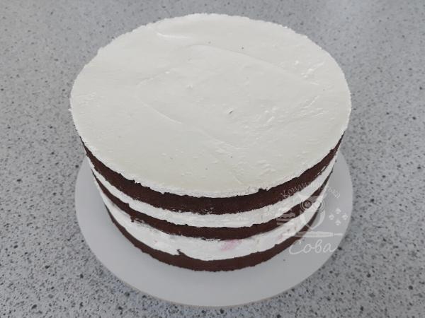 Как собрать торт Шварцвальд - рецепт | Торт на заказ во Львове