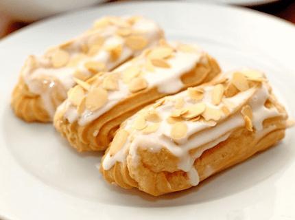 Начинка для эклеров - заварной крем | Торт на заказ во Львове