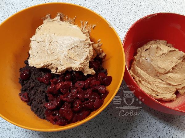 Собираем торт Пьяная вишня - рецепт | Сладости на заказ Львов