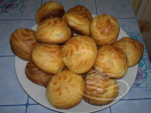 Заварные пирожные (профитроли)