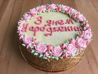 Торт Медовик на заказ Львов