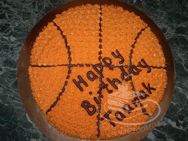 Торт Черный Лес - баскетбольный мяч