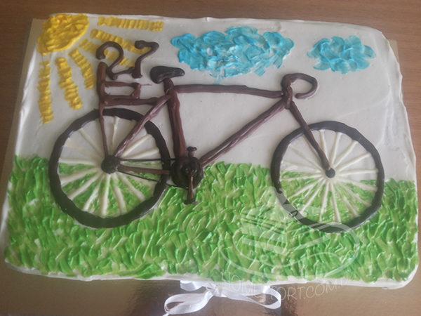 Торт Велосипед