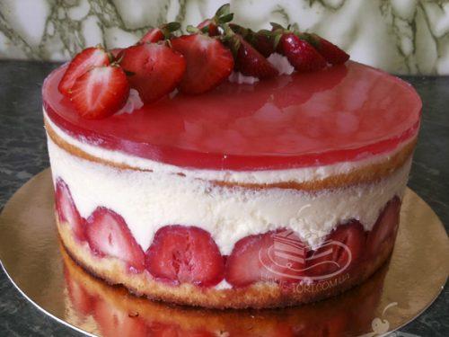 Торт Фрезье | Торт на заказ Львов