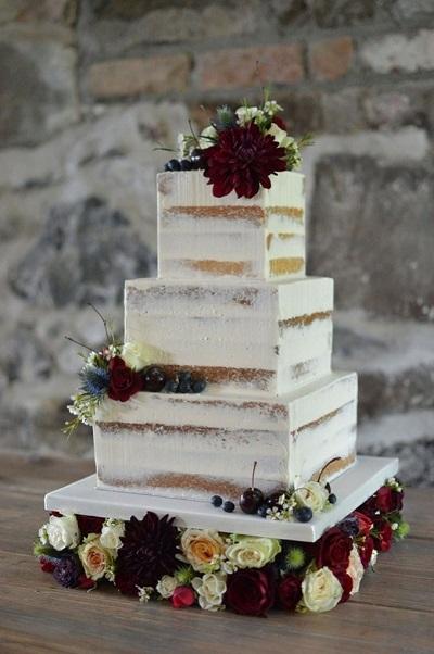 квадратный торт | Тренды дизайна тортов 2018-2019 | Блог | Торт на заказ
