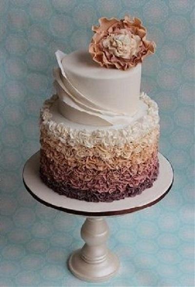 асимметричный торт | Тренды дизайна тортов 2018-2019 | Блог | Торт на заказ