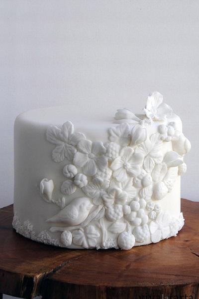 торт с барельефом | Тренды дизайна тортов 2018-2019 | Блог | Торт на заказ