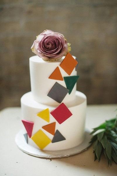 торт геометрия | Тренды дизайна тортов 2018-2019 | Блог | Торт на заказ