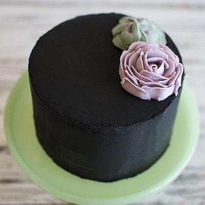 черный торт | Тренды дизайна тортов 2018-2019 | Блог | Торт на заказ