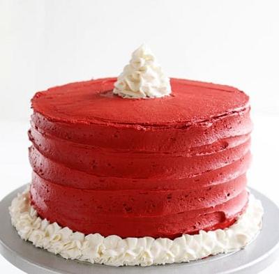 красный торт | Тренды дизайна тортов 2018-2019 | Блог | Торт на заказ