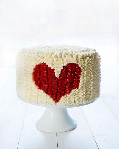 торт с рюшами оборками | Тренды дизайна тортов 2018-2019 | Блог | Торт на заказ